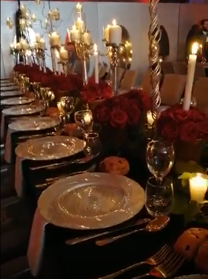 soirée gala au Radisson